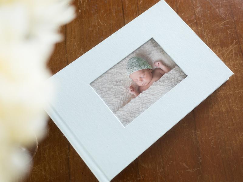 baby album linen